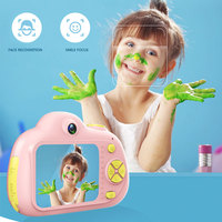 Kids Toys Camera Children Compact Cameras Children Selfie Mini Cartoon Photography Image Portable Support TF Card 1080p Photo