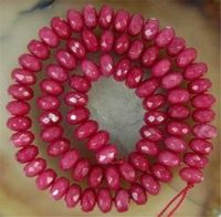 Wholesale 5 Strands 5x8mm Brazilian Abacus Gem Loose Bead 15