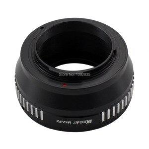 Image 3 - Kecay Adaptador de lente de M42 FX de alta precisión para lente de montaje de tornillo M42 para Fujifilm X Pro1 FX XPro1, color negro y plateado