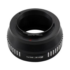 Image 3 - Kecay Hoge Precisie M42 FX Lens Adapter Voor M42 Schroef Mount Lens Voor Fujifilm X Pro1 Fx XPro1 Zwart + Sliver