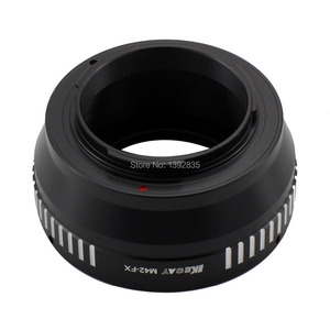 Image 3 - Kecay adaptateur dobjectif M42 FX haute précision pour objectif à monture à vis M42 pour Fujifilm X Pro1 FX XPro1 noir + argent