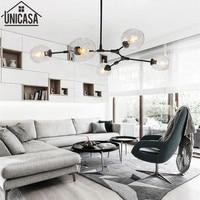 Modern pendant light kitchen B celling lamp for home decoration Bar large lighting elegant lights Postmodern glass lamps