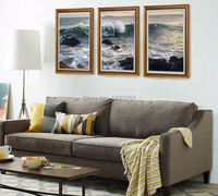 seascape scenery painting Chinese painting contemporary artist masterpiece landscape posters sea view modern decorative art