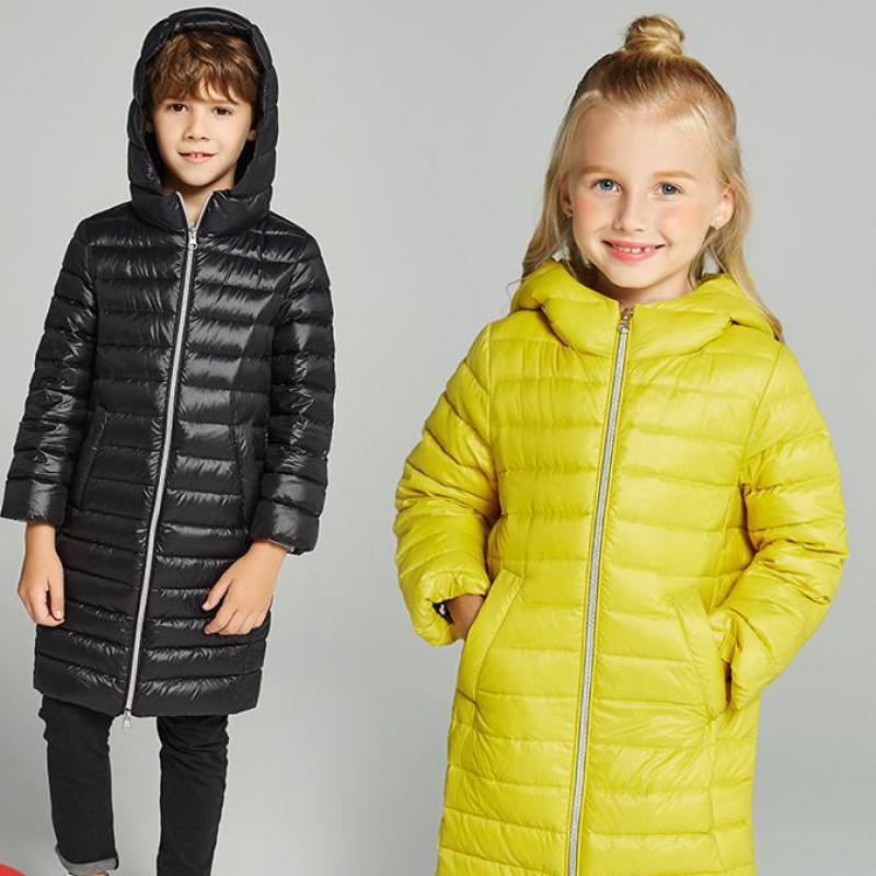 New 2018 Fashion Children Boys Winter Warm Parka Duck Down Jackets & Coat Girls Clothing Thicken Hooded Kids Clothes -30 Degrees winter jackets for girls kids fashion winter coat girls parka coats long thicken jacket 90% duck down warm children clothing