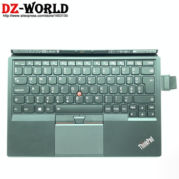 New black HU Hungary backlit keyboard for Lenovo Thinkpad X1 Tablet 1st Gen 20GH 20GG tablet laptop 01HX715 01AW615 TP00082K1