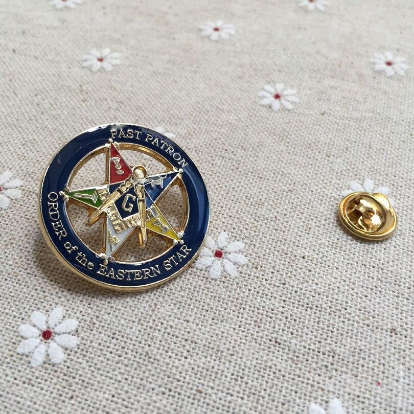 Masonic Order of the Eastern Star OES Lapel Pin Mason Freemason