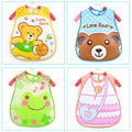 Baby Bibs EVA Waterproof Saliva Towel Scarf Lunch Boys Girls Cartoon Infant Bibs Burp Cloths For Children Feeding Care