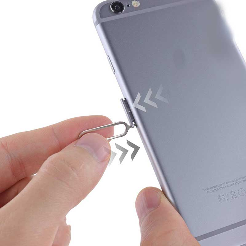 10pcs Slim Sim Card Tray Pin Eject Removal Tool Needle Opener Ejector for Most Smartphone JLRJ88