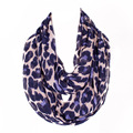 Hot Lovely Female Leopard Ring Scarf Fashion Women Animal Infinity Scarves Loop Shawl  No.12016