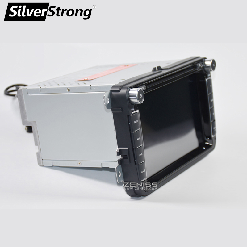 SilverStrong 2Din IPS ANDROID9.0 Car DVD for VW Android for Volkswagen for Passat for Golf for Polo/Octavia radio for Skoda 801