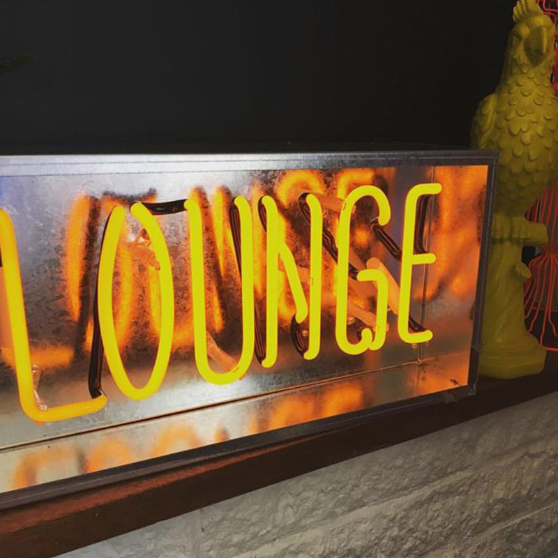 Persönlichkeit bar nachtlicht dekoration schlafzimmer party bar eisen box neon party licht nacht lampen colur kunst schreibtisch lampen ZA428048 - 6