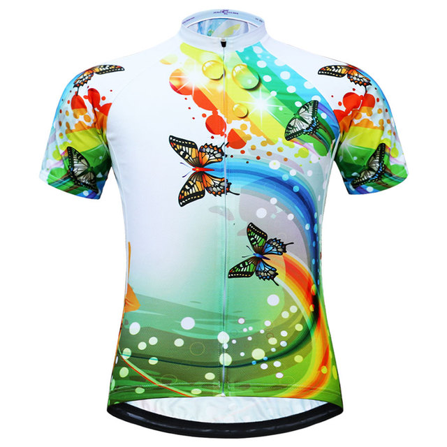 Women 's Cycling Jersey Hot Selling MTB Bike Jersey maillot ciclismo Short Sleeve Breathable Cycling Clothing Cycling Shirts
