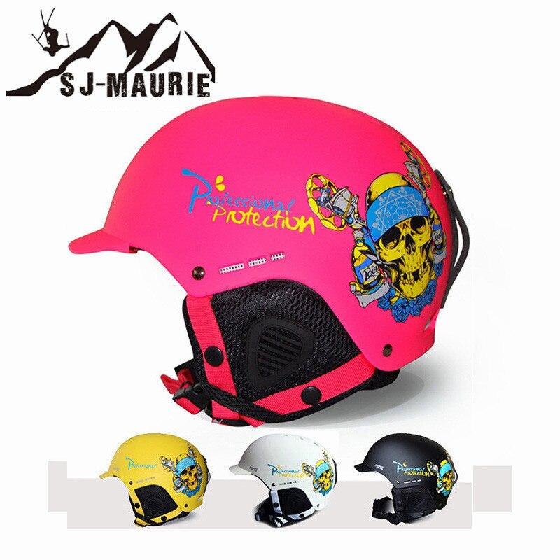 Hommes femmes patinage Skateboard Ski casque intégral-moulé Snowboard casques Ski protecteur 4 couleurs