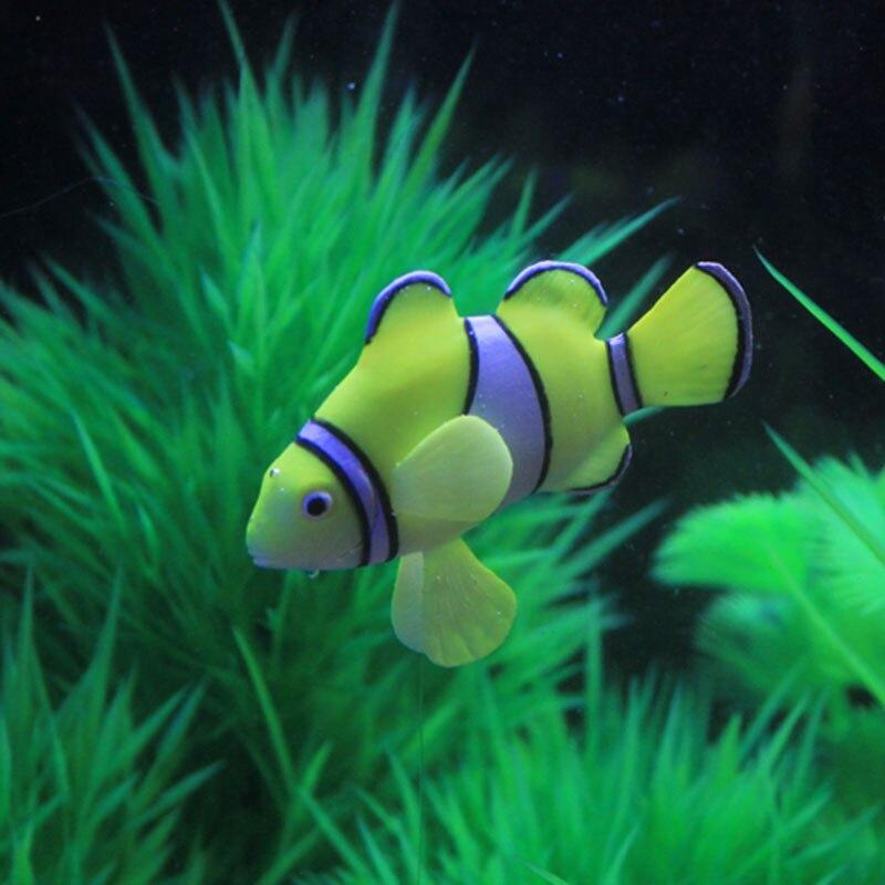 Four color aquarium aquarium decorations simulation for Clown fish price