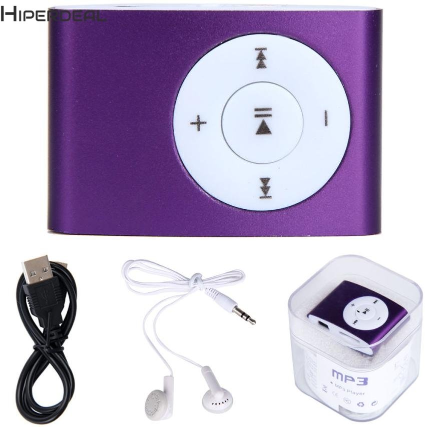 HIPERDEAL Players USB Cable Mini MP3 Player Support 32GB Micro SD TF Card With Headphone Hot 17Dec13 Drop Ship