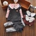 Conjunto Mola das crianças versão Coreana do colete terno das crianças três-pedaço da roupa do bebê do bebê banho