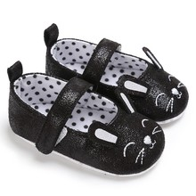 Newborn Baby Girls PU Leather Shoes