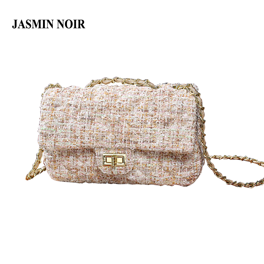 Female bag 2017 new Brand wave woolen chain Fashion shoulder Women Messenger bag Famous designer crossbody Bag for Ladies
