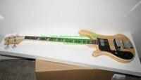 Left Handed Custom Natural 4 Strings 4003 Bass Guitar Left Handed Bass Guitar Chinese Guitars