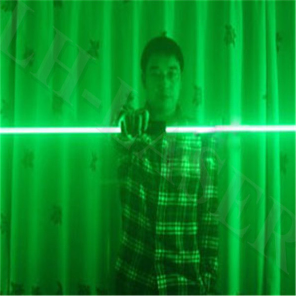 Mini Dual Direction Green Laser Sword For Laser Man Show 532nm 200mW Double-Headed Wide Beam Laser Double laser pen