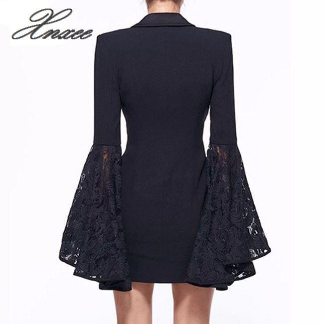 Xnxee Work Ladies Suits Blazer Women Double Breast Business Female Office Suit Elegant Pink Winter Jacket Coat Outwear