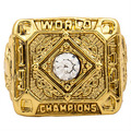 Wholesale 1954 San Francisco Giants Major League Baseball Zinc Alloy 24K gold plated Custom Sports Replica men Championship Ring