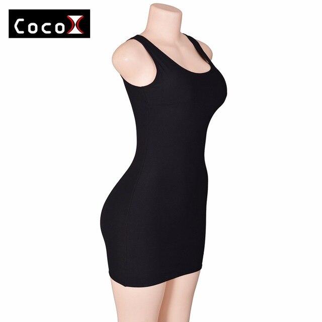 2016 Moldeadores Calientes para Las Mujeres Push Up Faja Control de La Talladora de La Cintura Sexy Vestido de Cremallera Shaper Transpirable Shaperwear