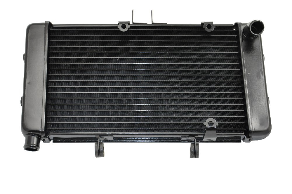 LOPOR Motorcycle Aluminium Radiator For SUZUKI GK75A 75A GSF400 1991-1994 GSF 400 91 92 93 94 цена
