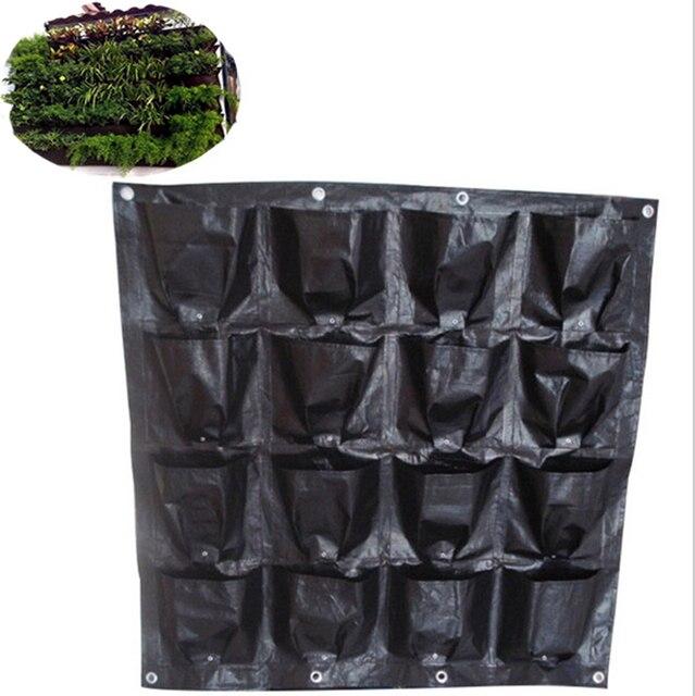 Hangenden Pflanzung Tasche Vertikal Garten Pflanzer Mit 16 Seiten