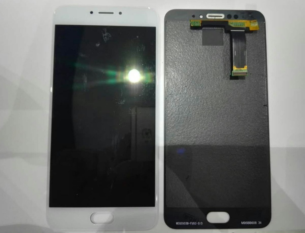 5.5 For Meizu MX6 LCD Display+Touch Digitizer Screen Assembly black/White by free shipping