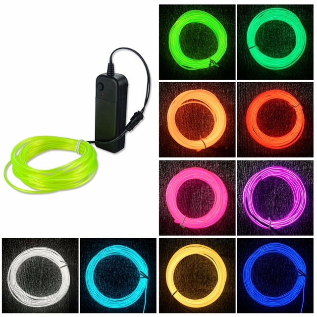 Battery Powered Neon LED Strip