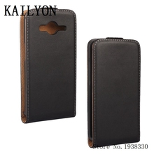 KAILYON G355H Luxury Flip Leather Case For Samsung Galaxy Core 2 Core2 G355H G3559 Fashion Retro Cell Phone Case Back Cover Bags