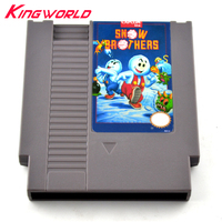 High Quality Snow Brothers Game Card Game Cartridge For NES 72 Pins 8 Bit Game Player