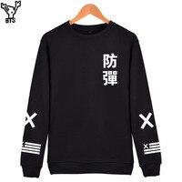 BTS Bangtan Boys Sweatshirt Women Hoodies Hooded Sweatshirts Kpop Long Sleeve Black Women Hoodies Sweatshirts Brand