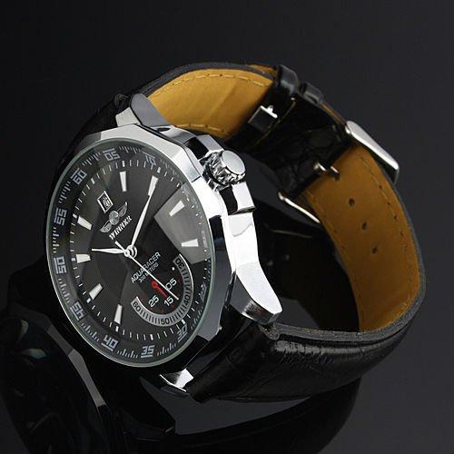 Relogio Masculino Winner Brand New Men s Automatic Mechanical Watches Leather Strap Watch Fashion Sports Men Innrech Market.com