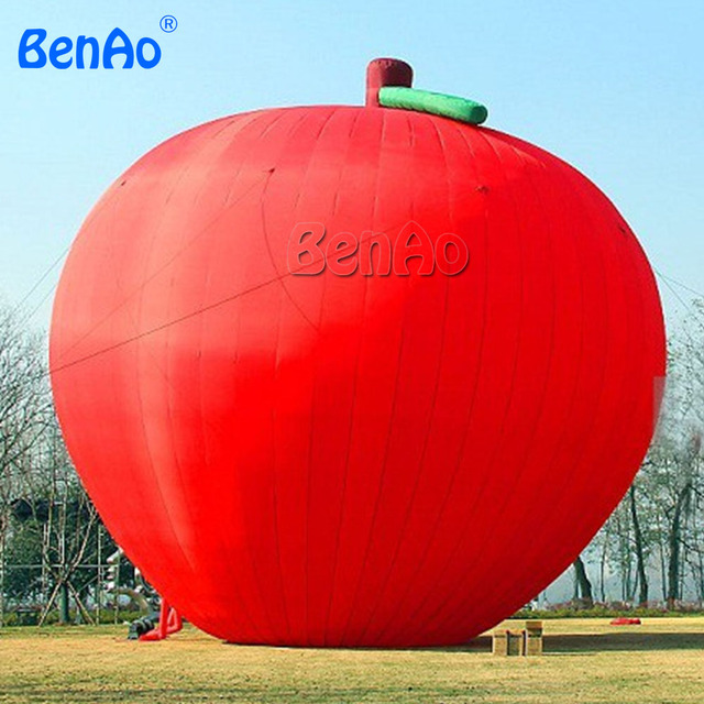 1a043405a Z049 BenAo Free shipping+blower 5m H CUSTOM MADE APPLE/Free design inflatable  costume custom made inflatable Apple replica. Price:
