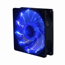 5Pcs Gdstime 90mm PC Computer Case 15 Blue LED Light CPU Cooling Fan 12V 3Pin