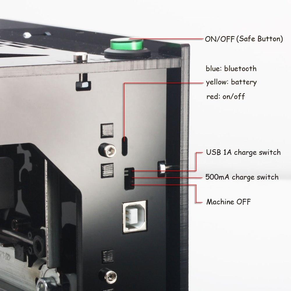 neje dk-bl mini laser cnc engraving engraver router machine6