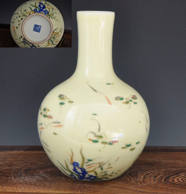 Only Existing Copy Chinese Top Antique Porcelain Hand Painted Vase
