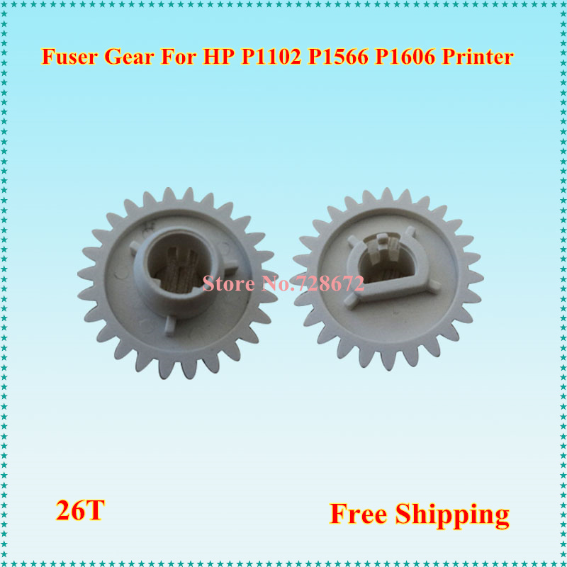 Hp Parts Store >> Us 7 07 7 Off Free Shipping Pressure Roller Gear Ru7 0100 000 Printer Spare Parts Fuser Gear For Hp P1102 Printer Ru7 0100 In Printer Parts From