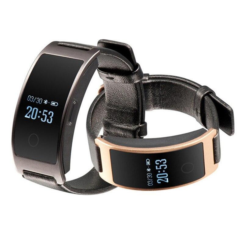 Pulsometer de presión arterial de reloj de Fitness reloj Monitor de ritmo cardíaco pulsera CK11S banda inteligente Pedometre para xio mi a1 xao mi vivo