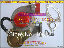 TF035 TD04 49135-03101 49135-03100 49135-03110 49135-03111 Water Cooled Turbo For Mitsubishi PAJERO Delica Challenger 4M40 2.8L