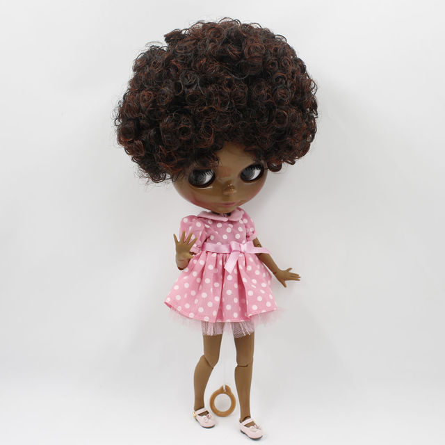 12 Takara Blythe From factory Nude Purple Red Mixed Curly