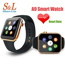A9New Smartwatch  Bluetooth Good Watch help Apple iPhone ios Android Cellphone with Coronary heart Price ,monitorsleep monitor,selfie.