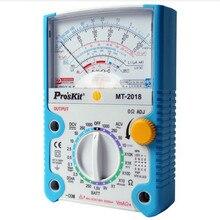 ProsKit MT- защитная функция аналоговый мультиметр стандарт безопасности Профессиональный ом тестер метр тестер Аналоговый