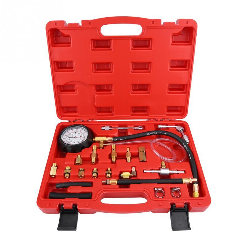 TU 114 Petrol Diesel Fuel Pressure Gauge Tester Fuel Injection Pump Diagnostic Tool Professional Tool Fuel