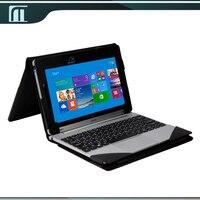 Gratis verzending pu lederen toetsenbord case cover pouch voor acer aspire schakelaar 10 10.1 inches tablet + screen beschermfolie