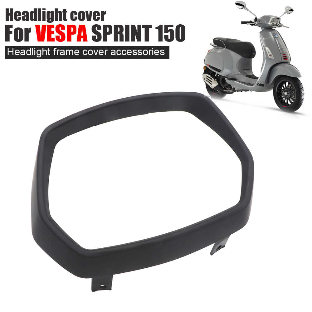For VESPA 10 SPRINT 10cc Accessories Motorcycle Cover For VESPA SPRINT  10 ABS 10 10 Headlight Frame Guard Decoration