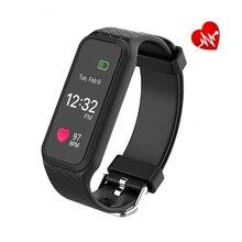 L38I Bluetooth Спорт Смарт Группы Heart Rate Полный Цветной Экран Поддержка Динамического Пульс Фитнес-Трекер BT4.0 Android или iOS