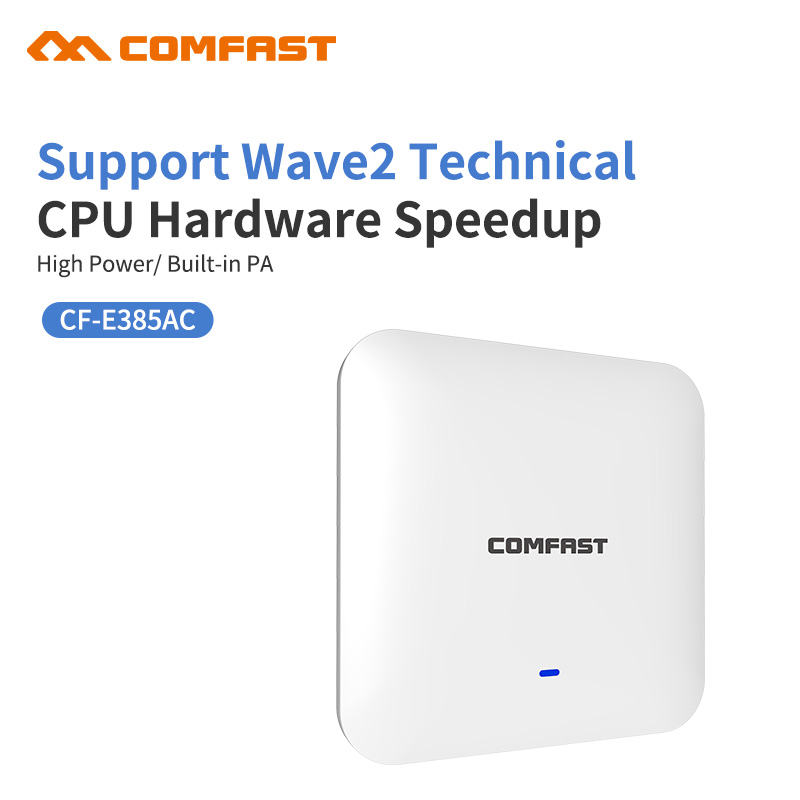 2200 Mbps Gigabit Potente Soffitto Dell'interno Senza Fili WiFi Access Point AP Wi-Fi Ripetitore 1*10/100/1000 Mbps Wan/WAN Extender Router